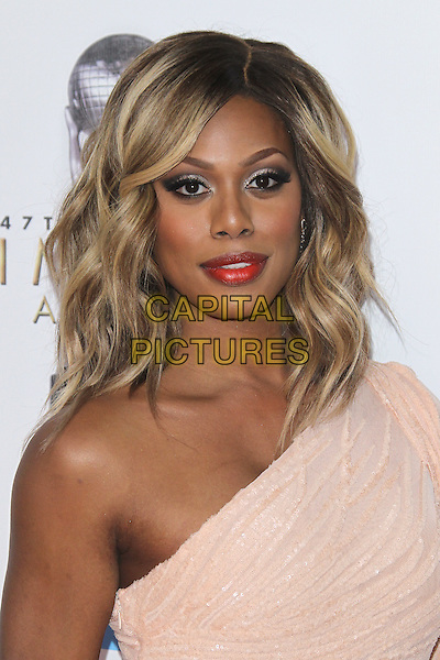 PASADENA, CA - FEBRUARY 5: Laverne Cox at the 47th NAACP Image Awards presented by TV One at Pasadena Civic Auditorium on February 5, 2016 in Pasadena, California. <br /> CAP/MPI25<br /> &copy;MPI25/Capital Pictures