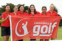 Canterbury, 2019 New Zealand Women's Interprovincials, Maraenui Golf Club, Hawke's Bay, New Zealand, Saturday 06th December, 2019. Photo: Kerry Marshall/www.bwmedia.co.nz