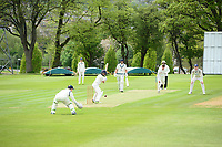 Picture by SWpix.com - 09/052018 Yorkshire Cricket College first ever game v Woodhouse grove School, Apperley Bridge, Bradford - team members and players of take to field for The Yorkshire Cricket College first ever game v Woodhouse Grove School<br /> Opening batter &ndash; Boeta Beukes