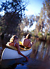 Canoeing at Miners Pool, Drysdale River Station