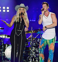 10 June 2018 - Nashville, Tennessee - BeBe Rexha, Tyler Hubbard, Florida Georgia Line. 2018 CMA Music Fest Nightly Concert held at Nissan Stadium. <br /> CAP/ADM/LF<br /> &copy;LF/ADM/Capital Pictures