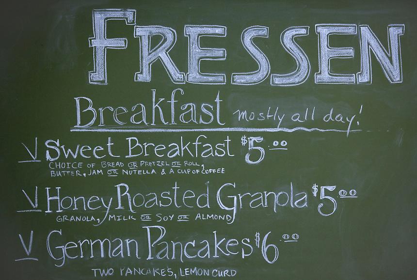 Fressen Bakery, a German bakery in Portland.