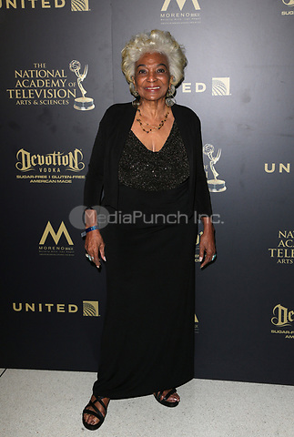 PASADENA, CA - April 30: Nichelle Nichols, At 44th Annual Daytime Emmy Awards Roaming At The Pasadena Civic Auditorium In California on April 30, 2017. Credit: FS/MediaPunch