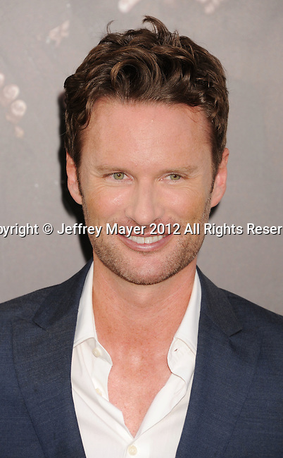 HOLLYWOOD, CA - AUGUST 15: Brian Tyler arrives at the 'The Expendables 2' - Los Angeles Premiere at Grauman's Chinese Theatre on August 15, 2012 in Hollywood, California.