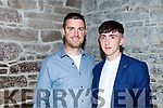 Dylan O'Brien pictured with Poshy Ahern at this Mercy Mounthawk Graduation ceremony in St John's on Friday.
