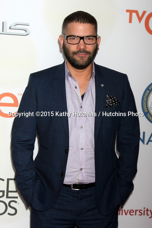 LOS ANGELES - FEB 6:  Guillermo Díaz at the 46th NAACP Image Awards Arrivals at a Pasadena Convention Center on February 6, 2015 in Pasadena, CA