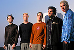 Various portrait sessions of the rock band, Finger Eleven.