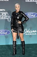 17 November 2019 - Las Vegas, NV - Keyshia Cole. 2019 Soul Train Awards Red Carpet Arrivals at Orleans Arena. Photo Credit: MJT/AdMedia