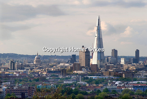 London Skyline The Shard and St Pauls cathedral