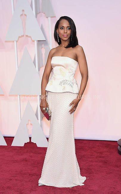 WWW.ACEPIXS.COM<br /> <br /> February 22 2015, Los Angeles Ca.<br /> <br /> Actress Kerry Washington arriving at the 87 th Annual Academy Awards at the Hollywood and Highland center on February 22 2015 in Hollywood CA.<br /> <br /> <br /> Please byline: Z15/ACE Pictures<br /> <br /> ACE Pictures, Inc.<br /> www.acepixs.com<br /> Email: info@acepixs.com<br /> Tel: 646 769 0430