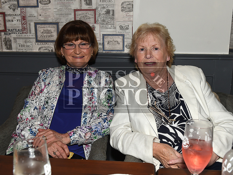 Phyllis Smith and Betty Tallon at the Slane GFC grand draw night at Dolly Mitchells. Photo:Colin Bell/pressphotos.ie
