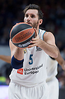 Real Madrid Rudy Fernandez during Turkish Airlines Euroleague match between Real Madrid and Crvena Zvezda at Wizink Center in Madrid, Spain. December 01, 2017. (ALTERPHOTOS/Borja B.Hojas) /NortePhoto.com NORTEPHOTOMEXICO