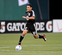 DC United midfielder Christian Gomez (10).  DC United tied Real Salt Lake 0-0 at  RFK Stadium, Saturday May 23, 2009.