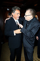 BEVERLY HILLS - NOV 11: Joe Mantegna, Larry King at AMT's 2017 D.R.E.A.M. Gala benefiting Autism Works Now at Montage Beverly Hills on November 11, 2017 in Beverly Hills, California
