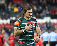 27th October 2019; Welford Road Stadium, Leicester, East Midlands, England; English Premiership Rugby, Tigers versus Saracens;  Guy Thompson of Tigers  - Editorial Use