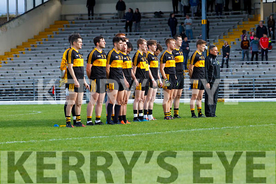 Dr Crokes in action against  West Kerry in the Kerry Senior Football Championship Semi Final at Fitzgerald Stadium on Saturday.