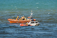 2016 08 31 Man dies after recovered from sea near spinning boat,Aberystwyth,UK