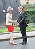 Theresa May MP<br /> The Prime Minister welcomes Prime Minister Bill English of New Zealand to Downing Street.<br /> 10 Downing Street, London, Great Britain <br /> 13th January 2017 <br /> <br /> Theresa May <br /> Bill English <br /> <br /> Photograph by Elliott Franks <br /> Image licensed to Elliott Franks Photography Services