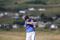 Rose Doyle playing with Scott Jamieson (SCO) during the ProAm of the 2018 Dubai Duty Free Irish Open, Ballyliffin Golf Club, Ballyliffin, Co Donegal, Ireland.<br /> Picture: Golffile | Jenny Matthews<br /> <br /> <br /> All photo usage must carry mandatory copyright credit (&copy; Golffile | Jenny Matthews)