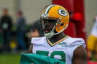 Green Bay Packers guard Kofi Amichia (79) during an Organized Team Activity on May 23, 2017 at Clarke Hinkle Field in Green Bay, Wisconsin.  (Brad Krause/Krause Sports Photography)