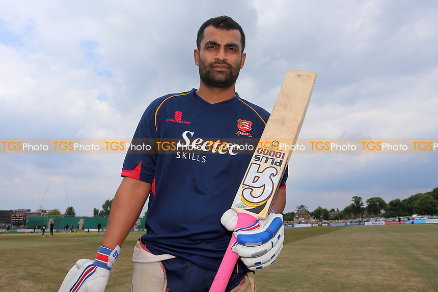New signing Tamim Iqbal of Essex Eagles poses for a photograph during Kent Spitfires vs Essex Eagles, NatWest T20 Blast Cricket at The County Ground on 9th July 2017