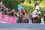 Annemiek Van Vleuten (NED) on the first circuit of Harrogate 2' ahead of the chasers during the Women Elite Road Race of the UCI World Championships 2019 running 149.4km from Bradford to Harrogate, England. 28th September 2019.<br /> Picture: Eoin Clarke | Cyclefile<br /> <br /> All photos usage must carry mandatory copyright credit (© Cyclefile | Eoin Clarke)