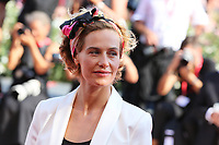 "VENICE, ITALY - September 01:  Cecile De France walks the red carpet of ""The New Pope"" screening during the 76th Venice Film Festival  on September 01, 2019 in Venice, Italy. (Photo by Mark Cape/Inside Foto)<br /> Venezia 01/09/2019"