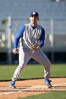 February 20, 2009:  Third baseman Carlos Rivera (23) of Seton Hall University during the Big East-Big Ten Challenge at Jack Russell Stadium in Clearwater, FL.  Photo by:  Mike Janes/Four Seam Images