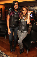 NEW YORK, NY - SEPTEMBER 26:..Julissa Bermudez & Adrienne Bailon attend the NBA 2K13 Premeire at 40/40.....© Walik Goshorn / Retna Ltd. /MediaPunch Inc. /NortePhoto