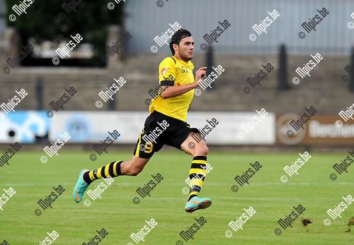 2013-09-15 / Voetbal / seizoen 2013-2014 / Berchem Sport / Nicky Melkert<br /><br />Foto: Mpics.be