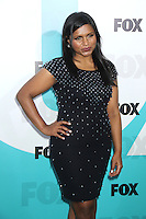 Mindy Kaling at the Fox 2012 Programming Presentation Post-Show Party at Wollman Rink in Central Park on May 14, 2012 in New York City.