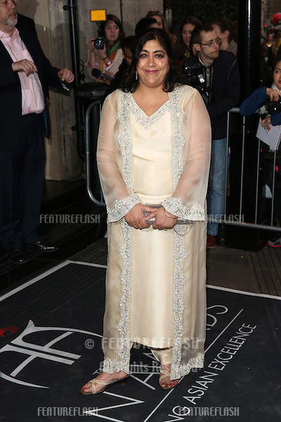Gurinder Chadha at The Asian Awards 2014 held at Grosvenor House Hotel, London. 04/04/2014 Picture by: Henry Harris / Featureflash