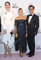 NEW YORK, NY - SEPTEMBER 28: Rebecca Hall, Sarah Jessica Parker and Fernando Garcia attends the New York City Ballet's 2017 Fall Fashion gala at David H. Koch Theater at Lincoln Center on September 28, 2017 in New York City.  Photo Credit: John Palmer/MediaPunch