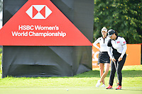 SINGAPORE - FEBRUARY 01: Nelly Korda of USA on the 11th green during the second round of the HSBC Women's World Championship 2019 at Sentosa Golf Club - Tanjong Course, Singapore on March 01, 2019.<br /> .<br /> .<br /> .<br /> (Photo by: Naratip Golf Srisupab/SEALs Sports Images)<br /> .<br /> Any image use must include a mandatory credit line adjacent to the content which should read: Naratip Golf Srisupab/SEALs Sports Images