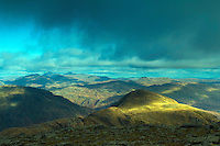 A' Chrois and the Southern Highlands from Beinn Narnain, the Arrochar Alps, Loch Lomond and the Trossachs National Park, Argyll & Bute