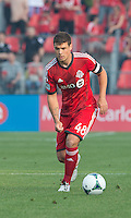 July 3, 2013: Toronto FC defender Darren O'Dea #48 in action during an MLS game between Toronto FC and Montreal Impact at BMO Field in Toronto, Ontario Canada.<br /> The game ended in a 3-3 draw.