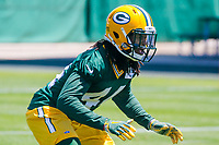 Green Bay Packers cornerback Donatello Brown (44) during an OTA on June 1, 2017 at Clark Hinkle Field in Green Bay, Wisconsin. (Brad Krause/Krause Sports Photography)