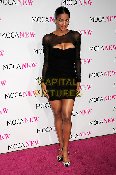 CIARA (Ciara Princess Harris).MOCA's 30th Anniversary Gala held at MOCA, Los Angeles, California, USA..November 14th, 2009.full length black dress sheer cleavage .CAP/ADM/BP.©Byron Purvis/AdMedia/Capital Pictures.