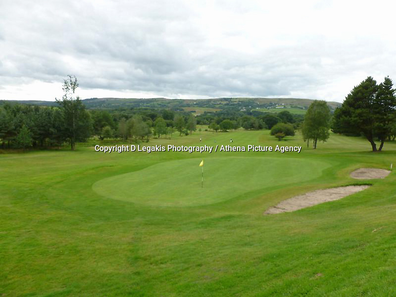Pictured: Palleg Golf Club in Lower Cwmtwrch near Swansea, Wales, UK STOCK PICTURE<br /> Re: Bosses of the Celtic Manor, where the Ryder Cup and the NATO summit were held, are threatening legal action against a village club in Swansea changing its name to Celtic Minor.<br /> Palleg golf club was renamed Celtic Minor by businessman owner John Adams to attract more members.<br /> But a spokesman for Celtic Manor warned they will fight &quot;any attempt to take unfair advantage of their reputation&quot;.<br /> Celtic Minor said &quot;there wasn't any issue&quot; with the name change.<br /> Club manager Melanie Eaton said the name change &quot;works in their favour.&quot;