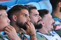 Lorenzo Insigne of Napoli dejection on the bench<br /> Napoli 29-9-2019 Stadio San Paolo <br /> Football Serie A 2019/2020 <br /> SSC Napoli - Brescia FC<br /> Photo Cesare Purini / Insidefoto