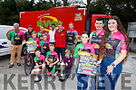 Shana Daly, Mike Kissane, Tara Kissane launch the Killarney Cycling Club Twin Peaks Challange which will be held on Sunday 12th May