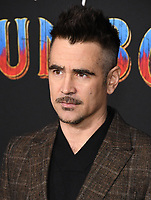 """11 March 2019 - Hollywood, California - Colin Farrell. """"Dumbo"""" Los Angeles Premiere held at Ray Dolby Ballroom. Photo Credit: Birdie Thompson/AdMedia"""