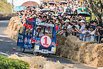 Team 民之所意,常在我心  in action during the Red Bull Soapbox Race 2017 Taipei at Multipurpose Gymnasium National Taiwan Sport University on 01 October 2017, in Taipei, Taiwan. Photo by Victor Fraile / Power Sport Images