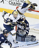 Bryan Rust (Notre Dame - 21), T.J. Tynan (Notre Dame - 18), Matt DiGirolamo (UNH - 30) - The University of Notre Dame Fighting Irish defeated the University of New Hampshire Wildcats 2-1 in the NCAA Northeast Regional Final on Sunday, March 27, 2011, at Verizon Wireless Arena in Manchester, New Hampshire.