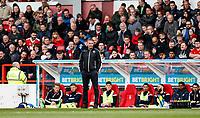 Bolton Wanderers' manager Phil Parkinson <br /> <br /> Photographer Andrew Kearns/CameraSport<br /> <br /> The EFL Sky Bet Championship - Nottingham Forest v Bolton Wanderers - Sunday 5th May 2019 - The City Ground - Nottingham<br /> <br /> World Copyright © 2019 CameraSport. All rights reserved. 43 Linden Ave. Countesthorpe. Leicester. England. LE8 5PG - Tel: +44 (0) 116 277 4147 - admin@camerasport.com - www.camerasport.com
