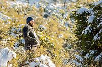 Photography, Photographing, photographer, camera<br /> , Fotografia, Foptografiando, fotografo, camara fotografica,  snow landscapes with clear sky. Winter in Cananea, Sonora, Mexico. Snow on the La Mariquita and Sierra Elenita mountains. 2020. (Photo by: GerardoLopez / NortePhoto.com).....<br /> <br /> paisajes de la nieve con cielo despejado. Invierno en Cananea, Sonora, Mexico.  Nieve en la siera la Mariquita y sierra Elenita . 2020. (Photo by: GerardoLopez/NortePhoto.com )