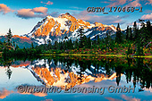 Tom Mackie, LANDSCAPES, LANDSCHAFTEN, PAISAJES, photos,+America, American, Americana, Mt. Shuksan, North America, Pacific Northwest, Picture Lake, Tom Mackie, USA, Washington, cloud+, clouds, colorful, colourful, dawn, daybreak, dusk, evening, evening light, horizontal, horizontals, inspiration, inspiratio+nal, inspire, lake, landscape, landscapes, morning, natural, nature, no people, peace, peaceful, peak, reflecting, reflection+, reflections, rugged, scenery, scenic, snow capped mountains, sunrise, sunrises, sunset, t,America, American, Americana, Mt.+,GBTM170468-1,#l#, EVERYDAY