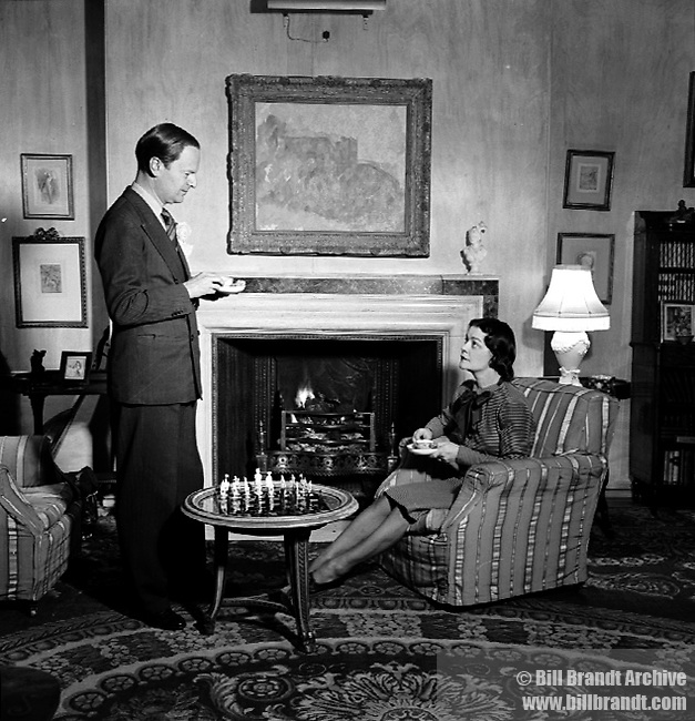 Kenneth Clark & wife, 1944