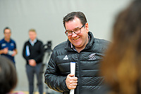 NZ minister of sport Grant Robertson. Value Of Sport Launch at ASB Sports Centre in Wellington, New Zealand on Saturday, 17 March 2018. Photo: Dave Lintott / lintottphoto.co.nz