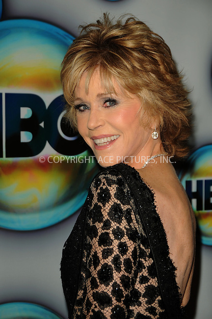 WWW.ACEPIXS.COM . . . . .  ....January 15 2012, LA....Actress Jane Fonda arriving at HBO's 69th Annual Golden Globe after party at Circa 55 Restaurant on January 15, 2012 in Los Angeles, California.....Please byline: PETER WEST - ACE PICTURES.... *** ***..Ace Pictures, Inc:  ..Philip Vaughan (212) 243-8787 or (646) 679 0430..e-mail: info@acepixs.com..web: http://www.acepixs.com